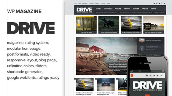 Drive-WordPress-Magazine