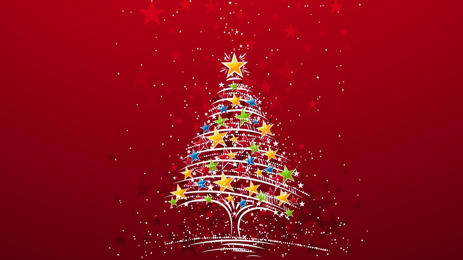 Beautiful christmas tree wallpaper - Beautiful Christmas Tree Wallpaper 1920x1080