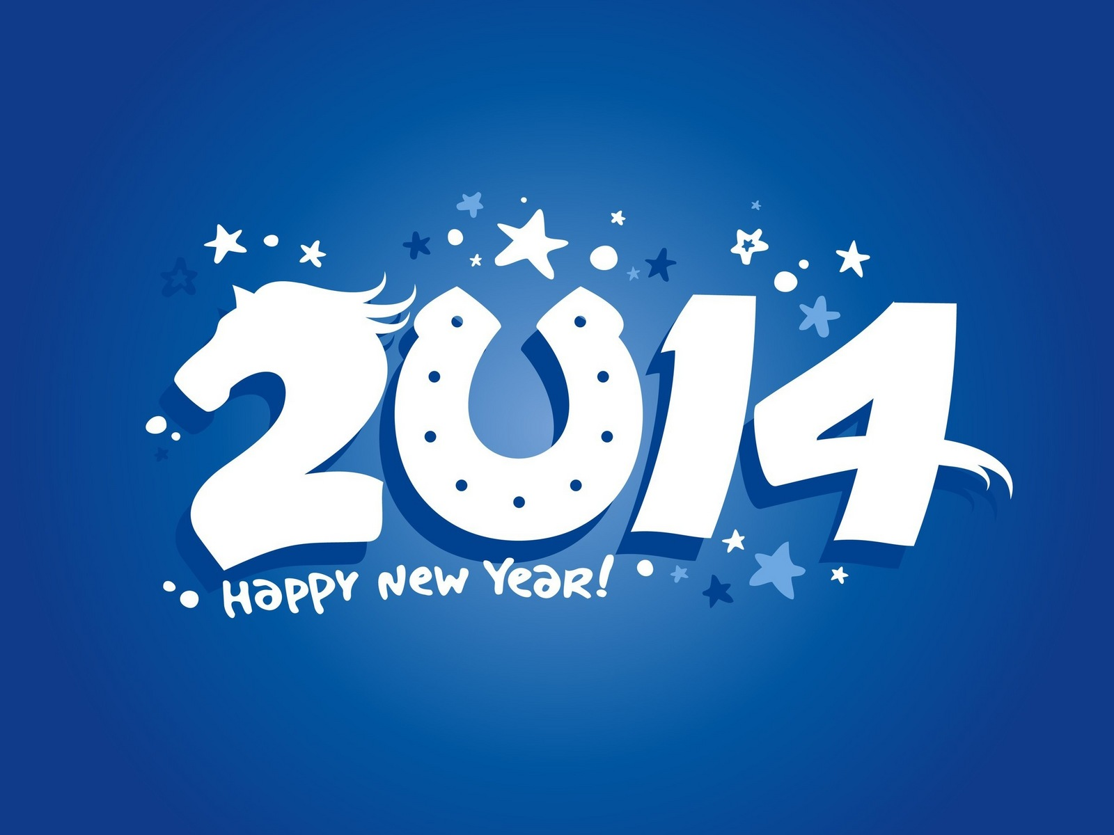 New Year 2014 Background1600x1200