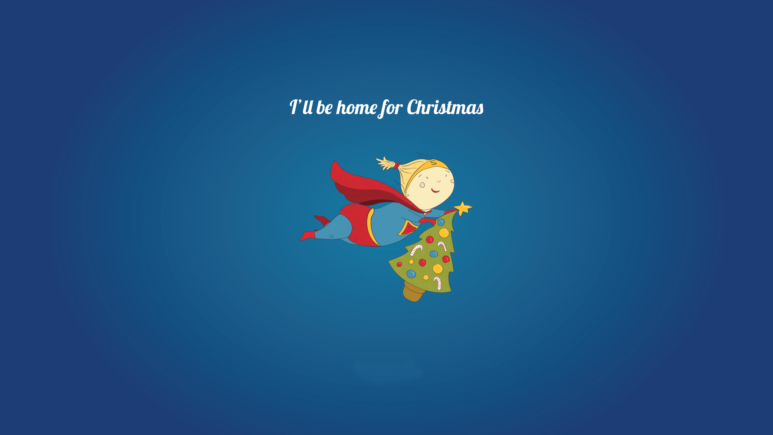 i will be home for christmas 2560x1440 - I Will Be Home For Christmas