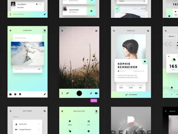 Relate UI kit download