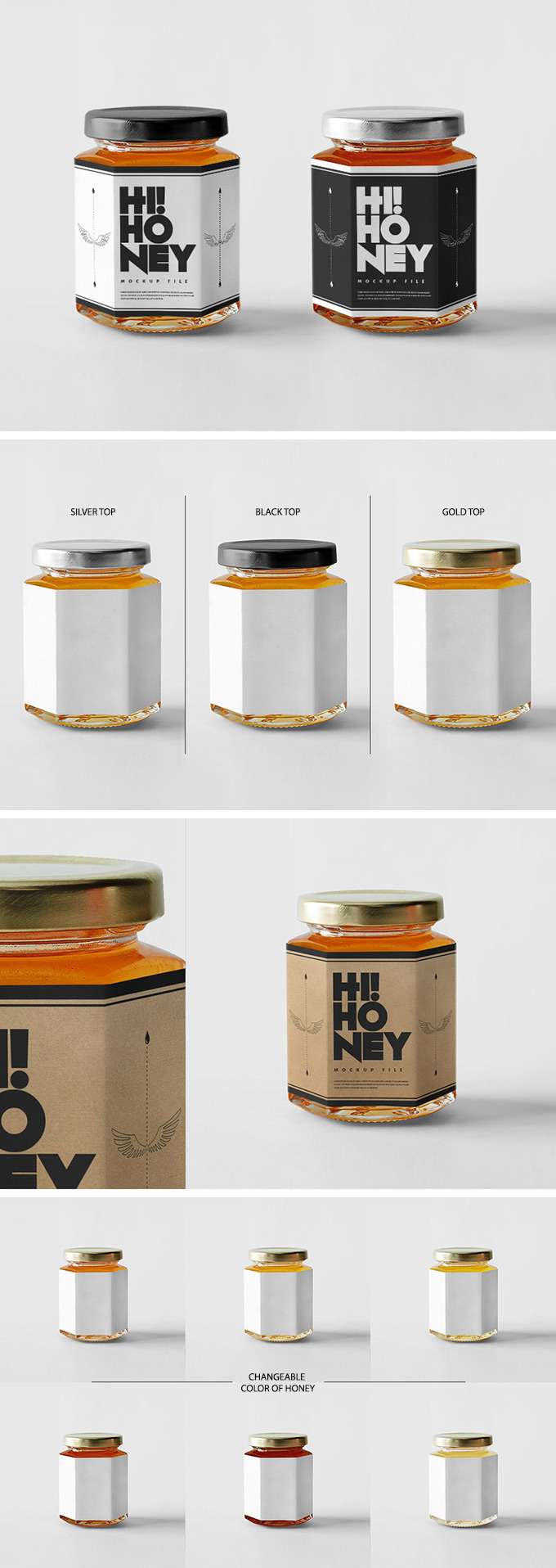 free-psd-package-honey-jar-mockups