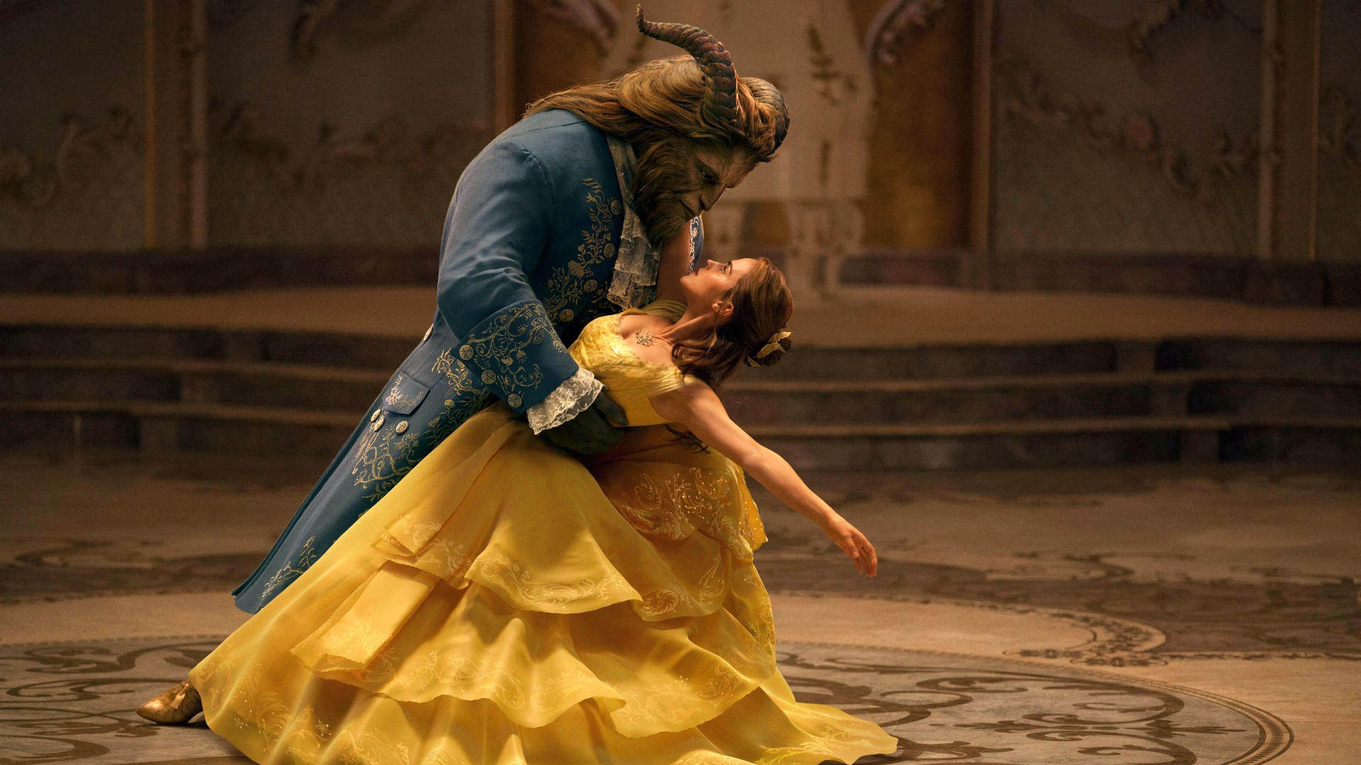 2017 Beauty And The Beast Disney Movie Wallpaper