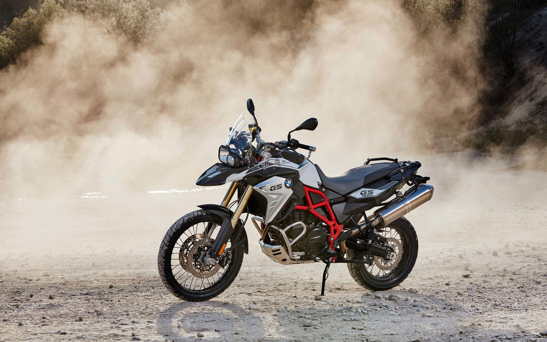 BMW F700GS Motorcycle Wallpaper