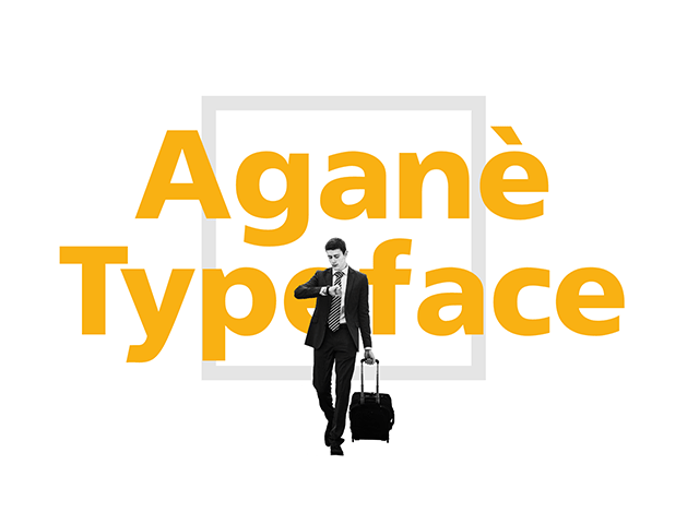 Download Free Font Agane for User Interface Design