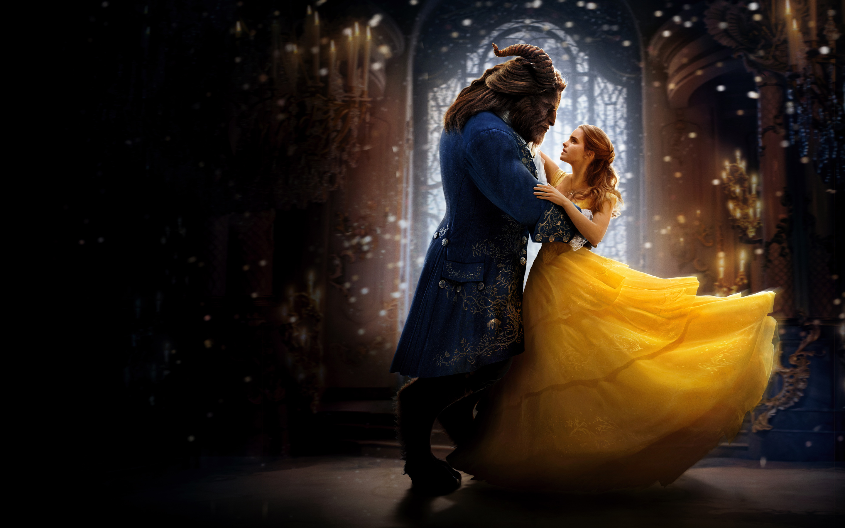 Beauty And The Beast 2017 Movie Wallpaper