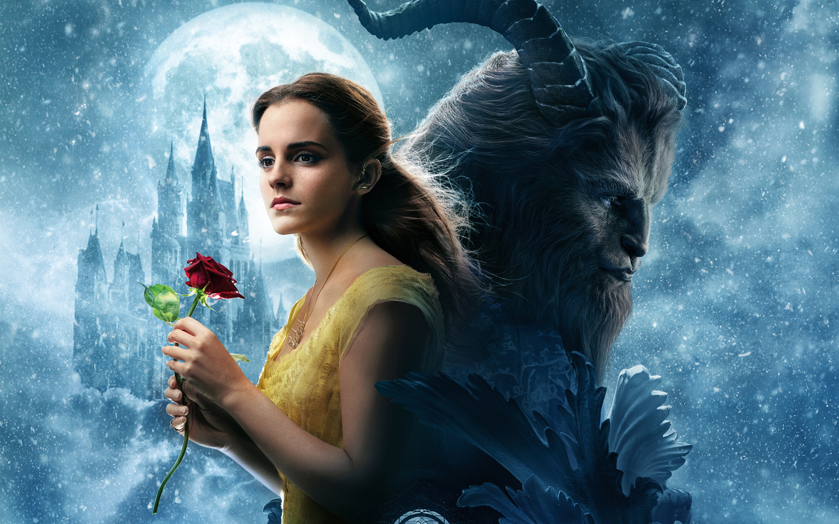Emma Watson Beauty And The Beast For Wallpaper Size 2880x1800