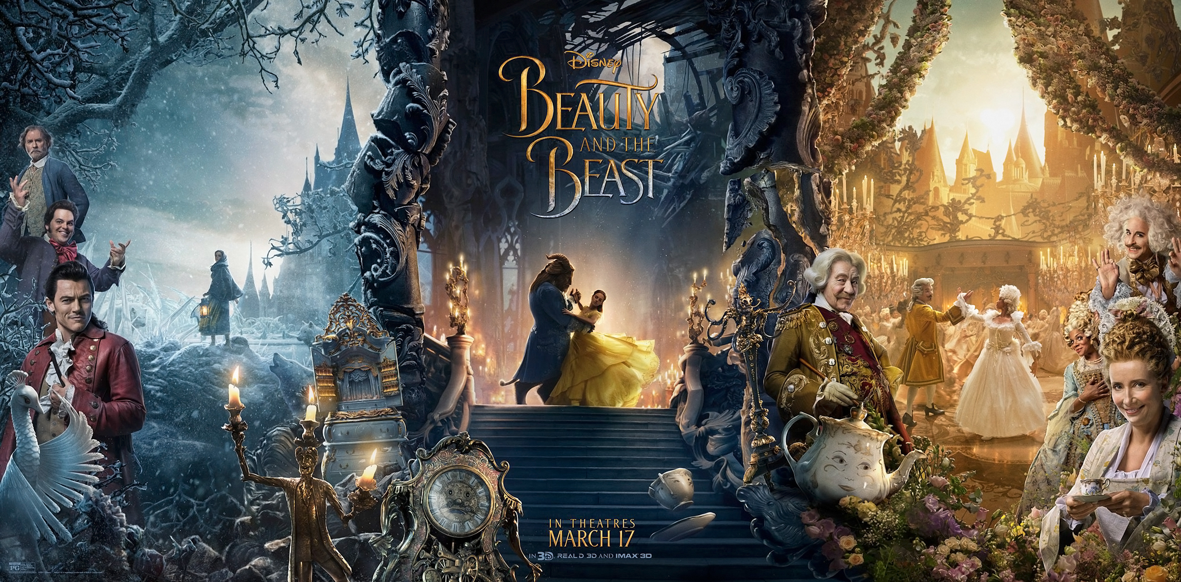 Beauty and the Beast Wallpaper - Wallpapers Browse
