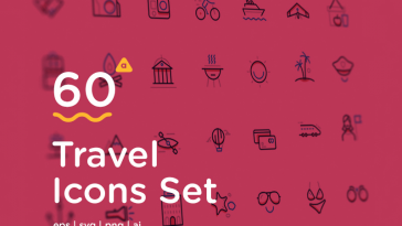 60 Free Travel Icons Download