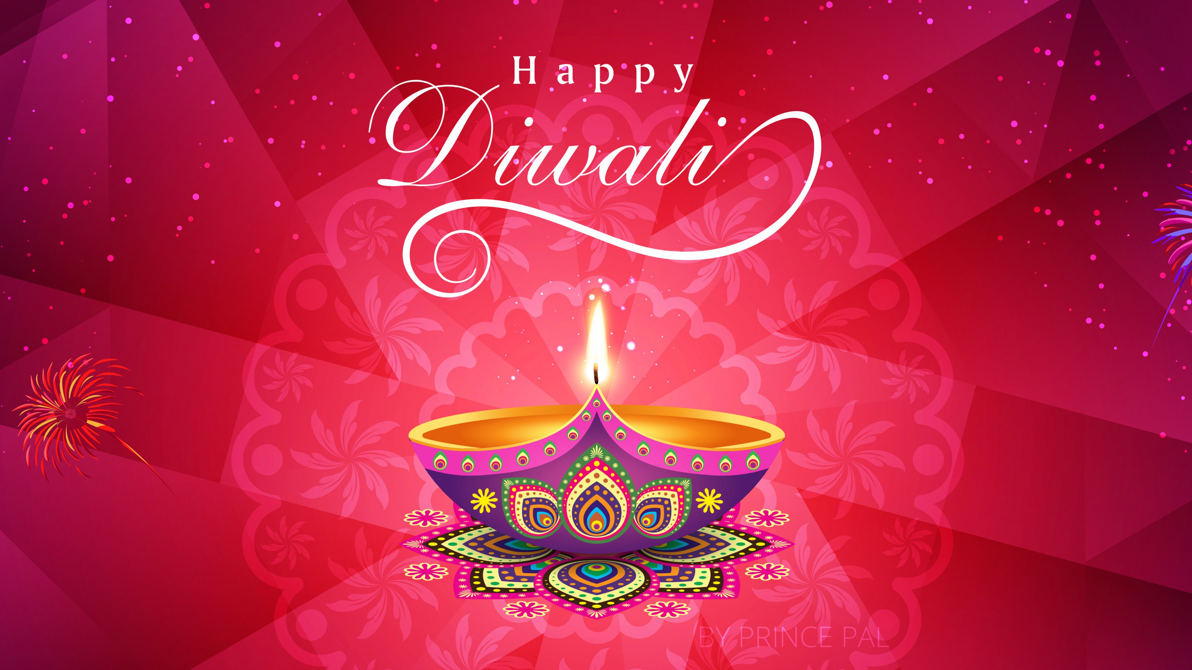 Diwali Festival of Lights 4K HD Wallpaper 3840x2160