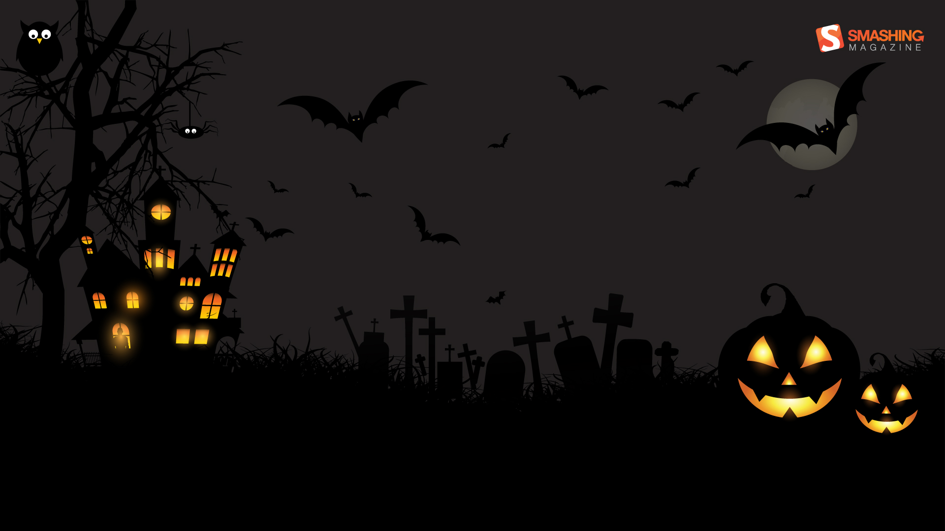 Scary Halloween HD Wallpaper 1080p