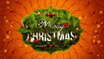 Merry Christmas image wallpaper 1920x1200