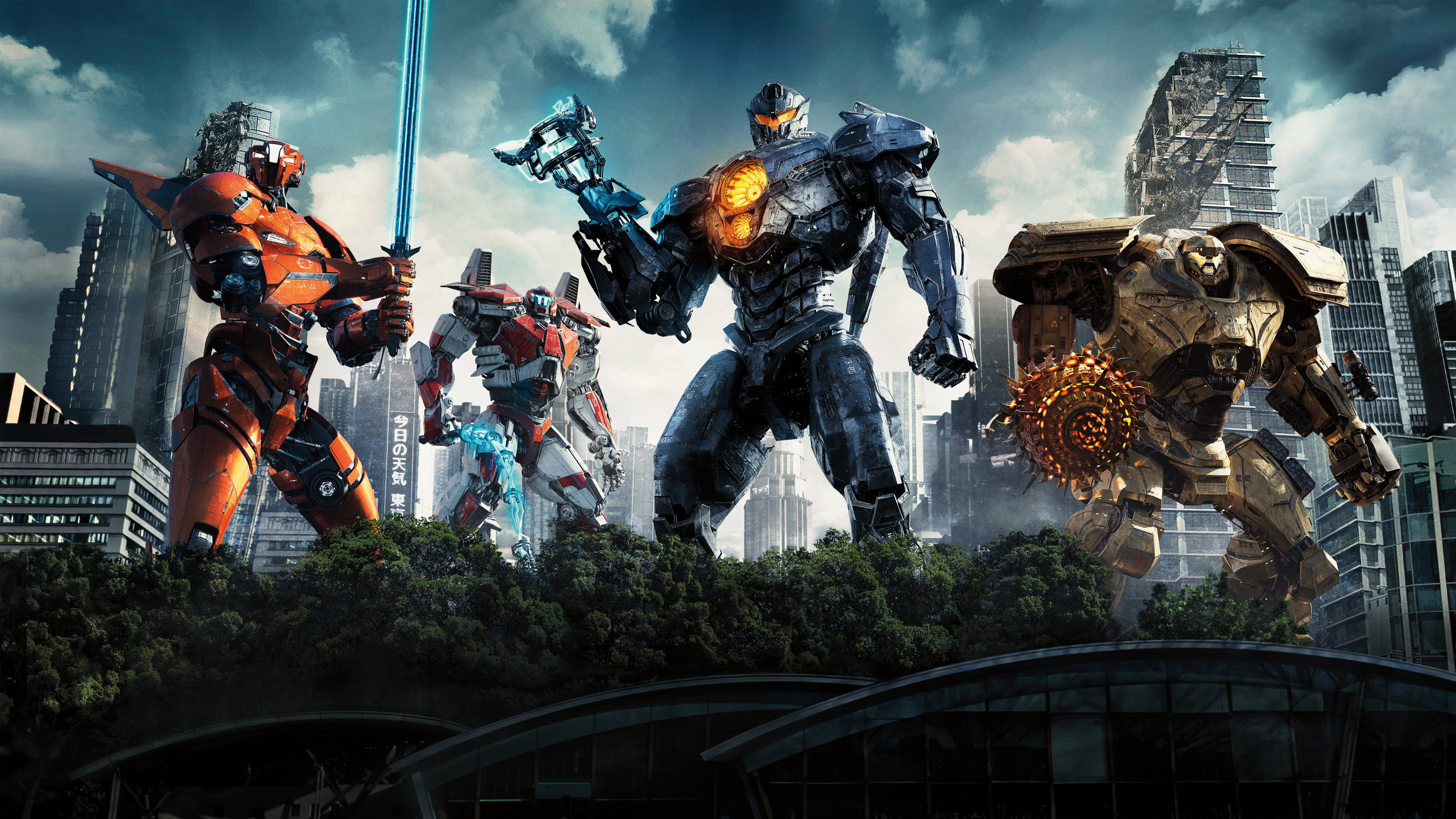 pacific rim uprising 2018 movie 4k wallpaper free download