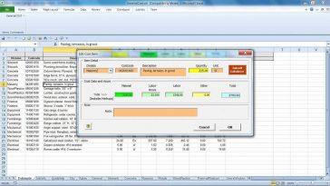 Free Concrete Cost Estimator Windows Software for Excel