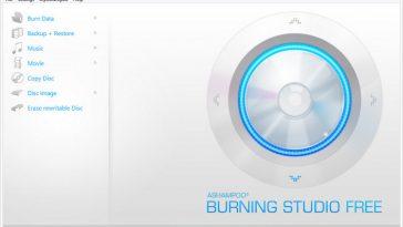 Ashampoo DVD Burning Studio Free Download for Windows 10, 8, 7