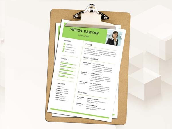Free Consultant Resume Template