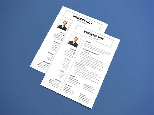 Free Manager Resume Template