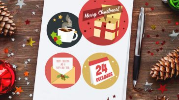 25 Free Christmas Icons Set Download