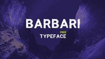 Barbari Free Font for Greeting Cards and Quotes