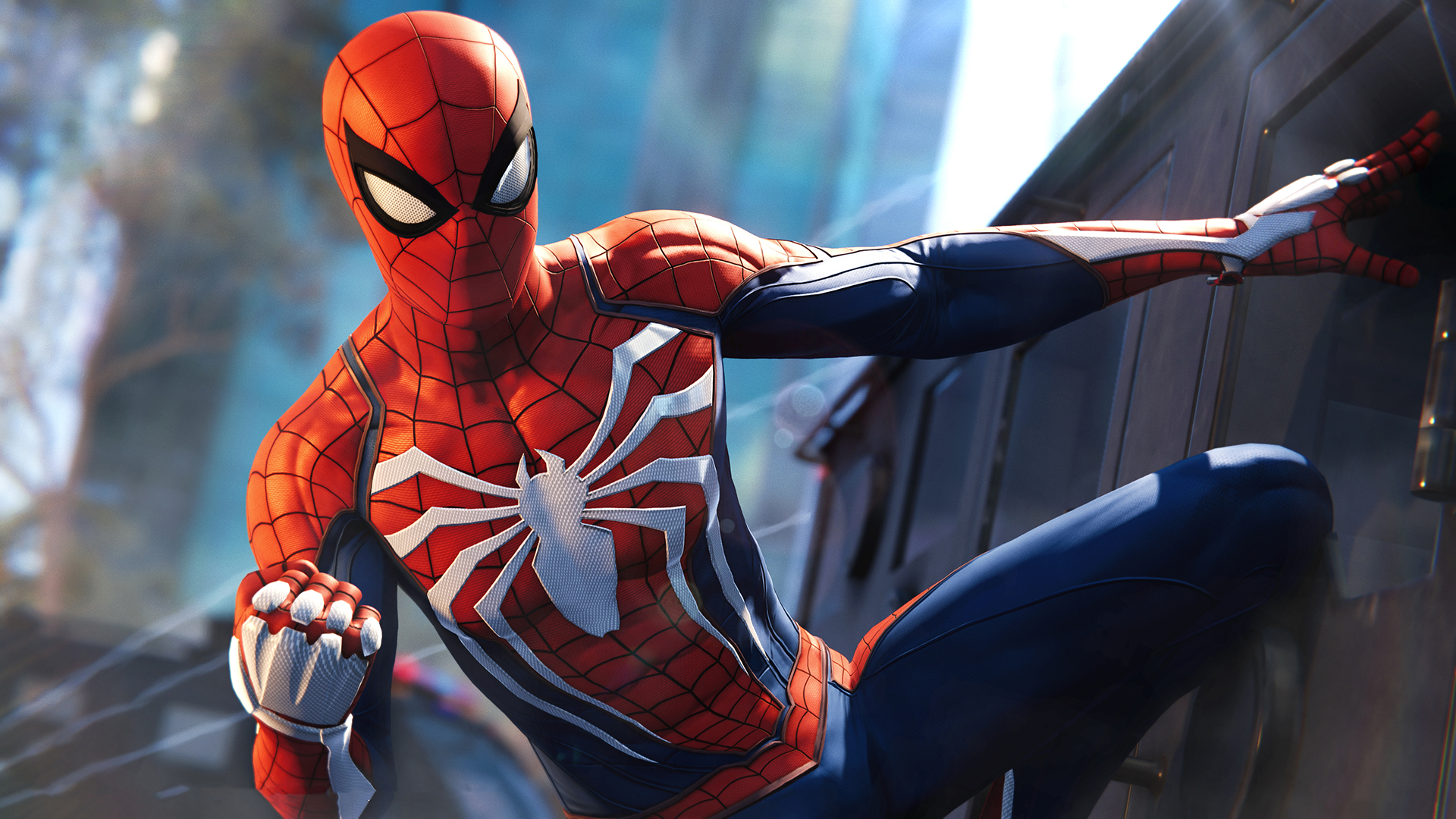 Marvels Spider Man Ps4 Game High Quality Resolution Wallpaper