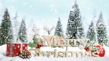 Merry Christmas HD Wallpaper 1080p
