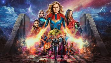 Captain Marvel Avengers Endgame Movie Retina Ready Wallpaper 2880x1800