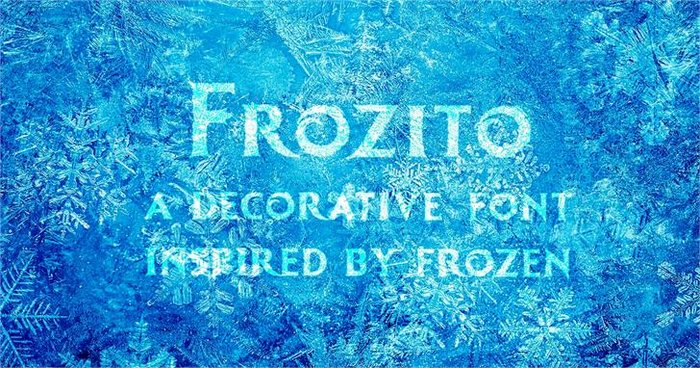Frozito Free Christmas Font