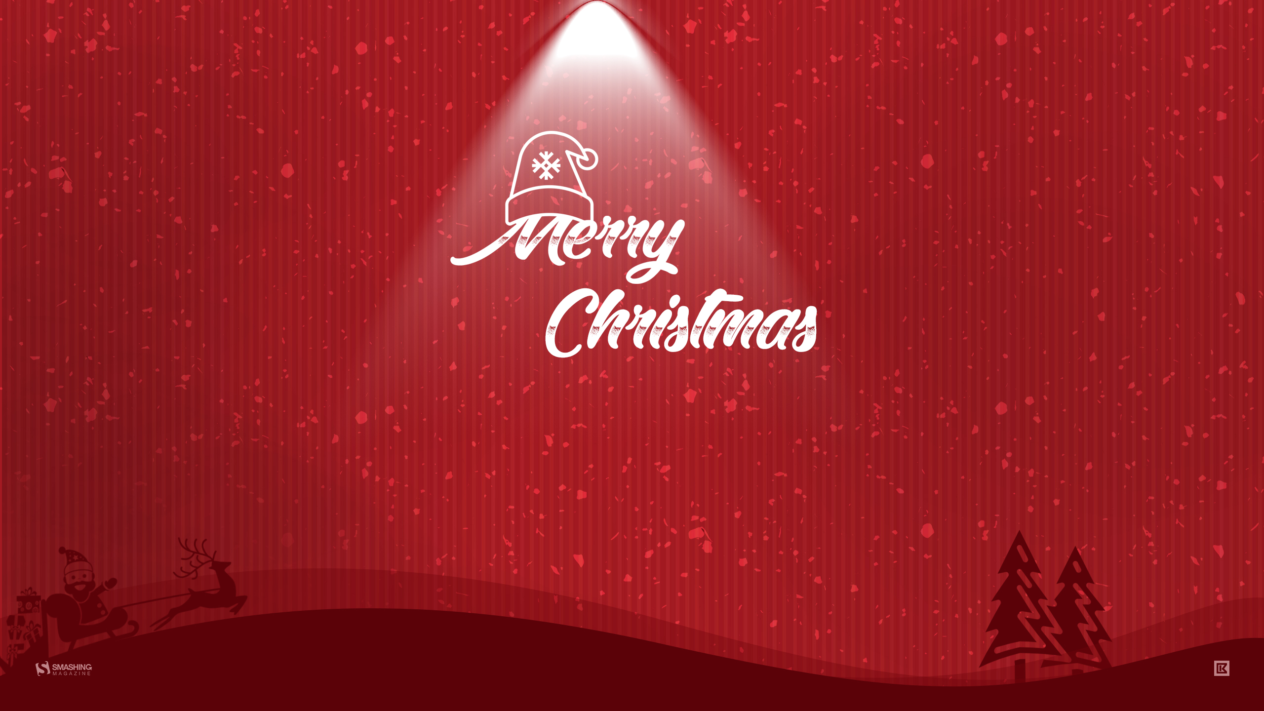 Merry Christmas HD Wallpaper 2560x1440