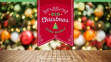 210 Free Christmas Icon Bundle in SVG and PNG